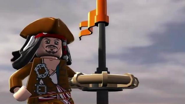 lego pirates des caraibes jack sparrow