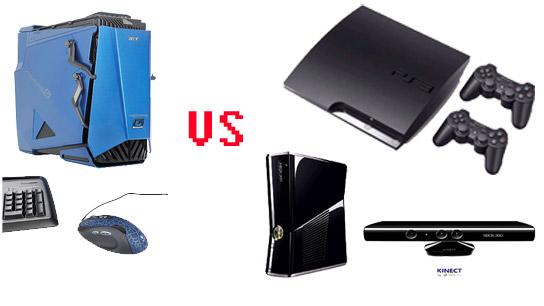 jeux pc vs consoles